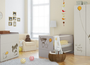 Chambre b b volutive compl te pour fille baby - Chambre bebe fille complete ...