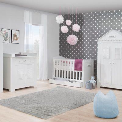 Chambre bébé complète PINIO Plage - lit 120x60