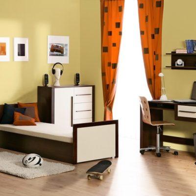 Pinio parole gar on 3 meubles lit 200x90 armoire for Chambre 13 parole